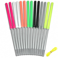 Mister Babache Xtreme Coloured Silicone Grip Diabolo Hand Sticks